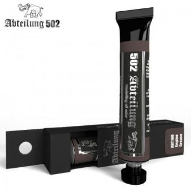 Weathering Oil Paint Engine Grease 20ml Tube - Abteilung 160