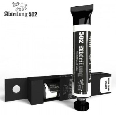 Weathering Oil Paint Faded White 20ml Tube - Abteilung 165