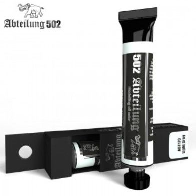 Weathering Oil Paint Light Grey 20ml Tube - Abteilung 170