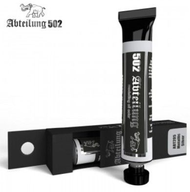 Weathering Oil Paint Metallic Silver 20ml Tube - Abteilung 205