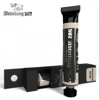 Weathering Oil Paint Cream Brown 20ml Tube - Abteilung 240
