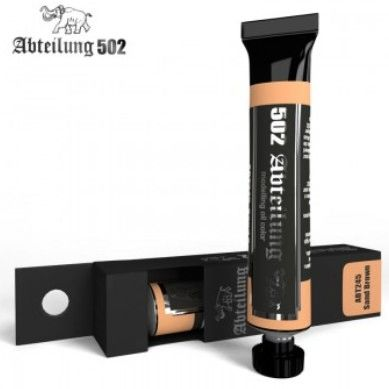Weathering Oil Paint Sand Brown 20ml Tube - Abteilung 245
