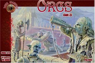 1/72 Orcs Set #2 Figures (50) - ALLIANCE FIGURES 72002