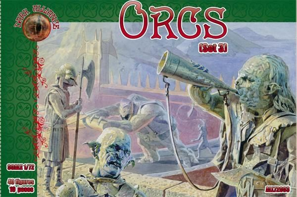 1/72 Orcs Set #3 Figures (40) - ALLIANCE FIGURES 72003