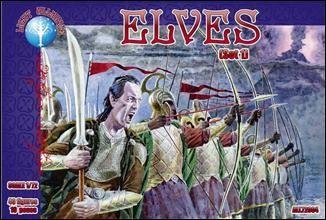 1/72 Elves Set #1 Figures (40) - ALLIANCE FIGURES 72004