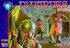 1/72 Dwarves Set #1 Figures (44) - ALLIANCE FIGURES 72007
