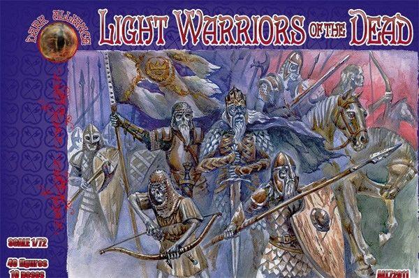 1/72 Light Warriors of the Dead Figures (40) - ALLIANCE FIGURES 72011