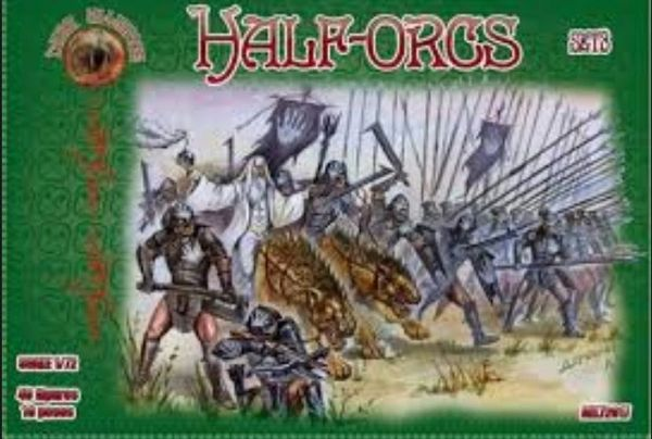 1/72 Half Orcs Set # 3 Figures (40) - ALLIANCE FIGURES 72017
