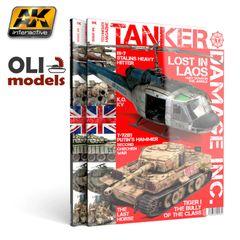 Tanker Magazine Issue 4: DAMAGE INC. - AK Interactive T4