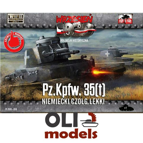 1/72 Pz.Kpfw. 35(t) German Light Tank - First to Fight 038