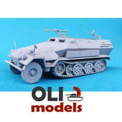 1/72 Sd.Kfz. 251 Ausf.A/B FULL RESIN Kit - Modell Trans 72309