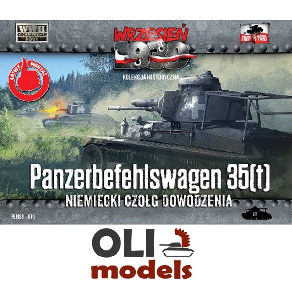 1/72 Panzerbefehlswagen 35(t) German Command Tank - First to Fight 039