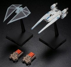 1/144 Star Wars Rogue One: U-Wing Fighter & Tie Striker - Bandai 212184