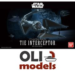 1/72 Star Wars Return of the Jedi: Tie Interceptor - Bandai 208099