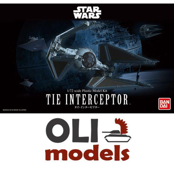 1/72 Star Wars Return of the Jedi: Tie Interceptor - Bandai 208099