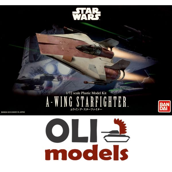 1/72 Star Wars: A-Wing Starfighter - Bandai 206320