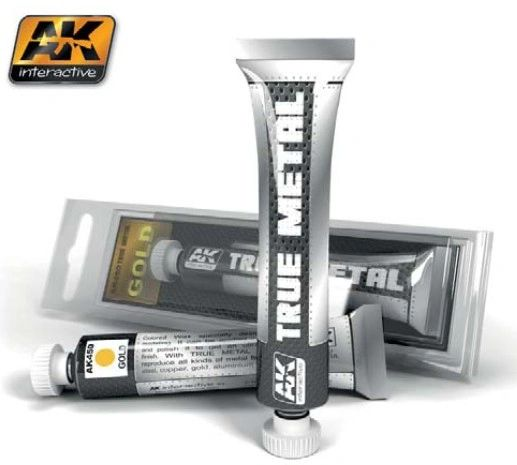 True Metal Wax Gold 20ml Tube - AK Interactive 450