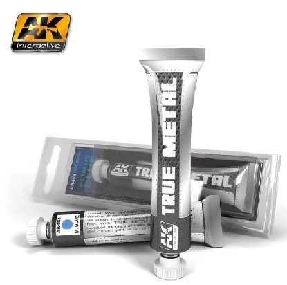 True Metal Wax Metallic Blue 20ml Tube - AK Interactive 451
