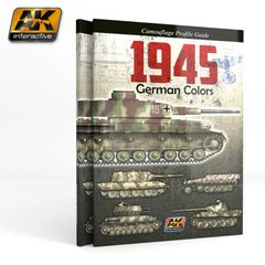 1945 German Colors Camouflage Profile Guide Book - AK Interactive 403