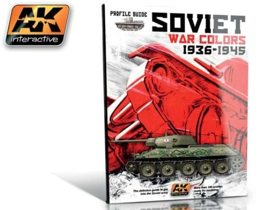 Soviet War Colors 1936-1945 Profile Guide Book - AK Interactive 270