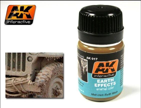 Earth Effects Enamel Paint 35ml Bottle - AK Interactive 17