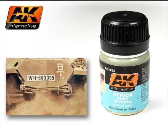 Africa Dust Effects Enamel Paint 35ml Bottle - AK Interactive 22
