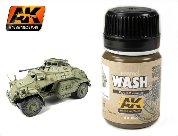 DAK Vehicle Wash Enamel Paint 35ml Bottle - AK Interactive 66
