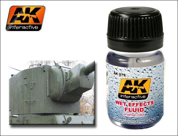 Wet Effects Fluid Enamel Paint 35ml Bottle - AK Interactive 79