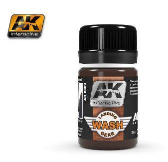 Air Series: Landing Gear Enamel Wash 35ml Bottle - AK Interactive 2029