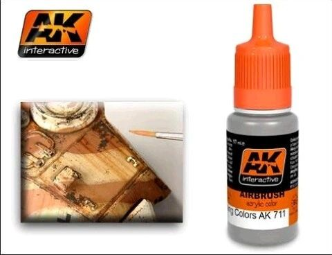 Chipping Color Effects Acrylic Paint 17ml Bottle - AK Interactive 711