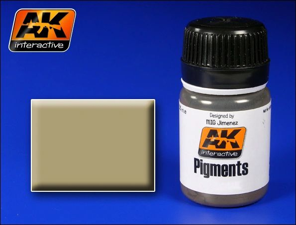 North Africa Dust Pigment 35ml Bottle - AK Interactive 41