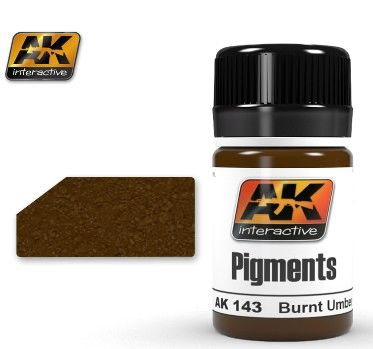 Burnt Umber Pigment 35ml Bottle - AK Interactive 143
