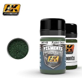 Faded Green Pigment 35ml Bottle - AK Interactive 148