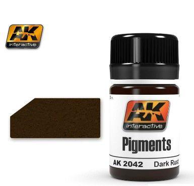 Dark Rust Pigment 35ml Bottle - AK Interactive 2042