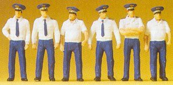 1/72 Russian AF Soldiers Summer Uniform (6) - Preiser 72408