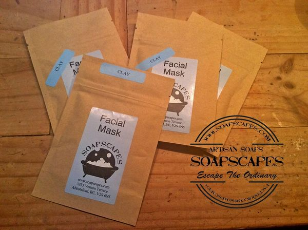 Clay and Goat Milk Facial Mask