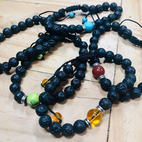 Lava Beads Bracelet