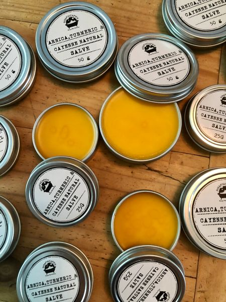 Cayenne Pepper and Turmeric Arnica Natural Salve