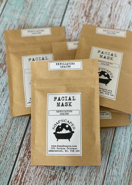 Exfoliating Grains Facial Mask