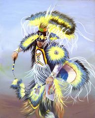 Earth Dance, Signed and Matted Art Prints or as Greeting Card
