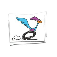 road runner sticker