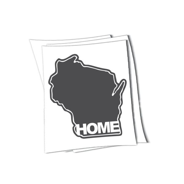 Wisconsin home sticker