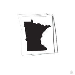 Minnesota state sticker