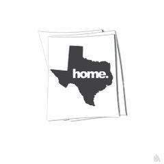 Texas home. sticker