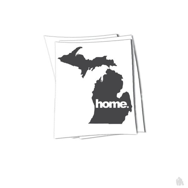 Michigan home sticker