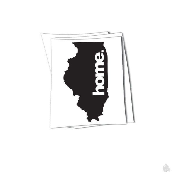illinois home sticker