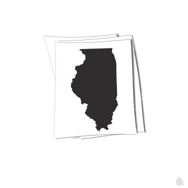 illinois state sticker