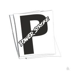 powerstroke sticker