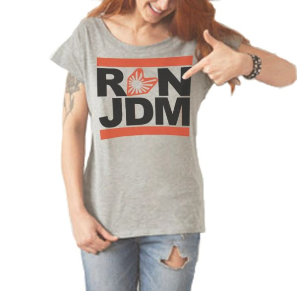 Run JDM ladies t-shirt