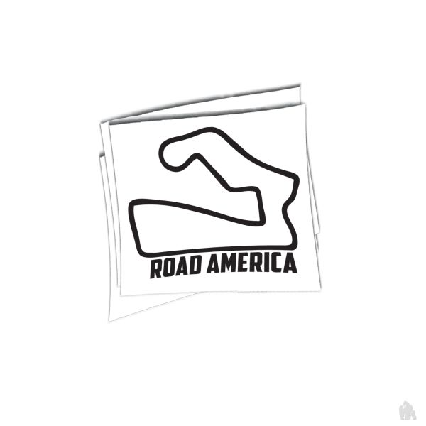 Road america sticker